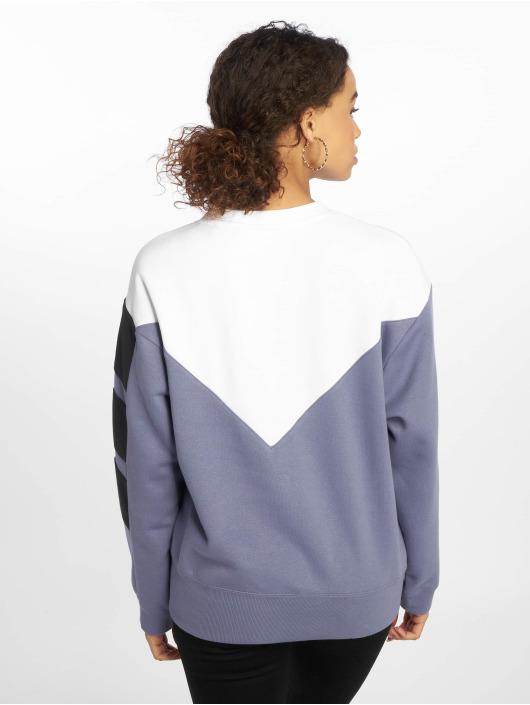 adidas originals Пуловер diagonal индиго
