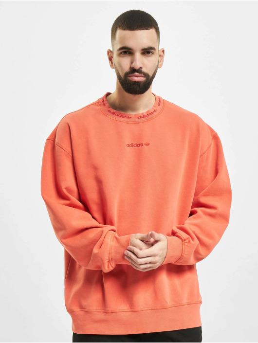 adidas Originals Пуловер Dyed оранжевый
