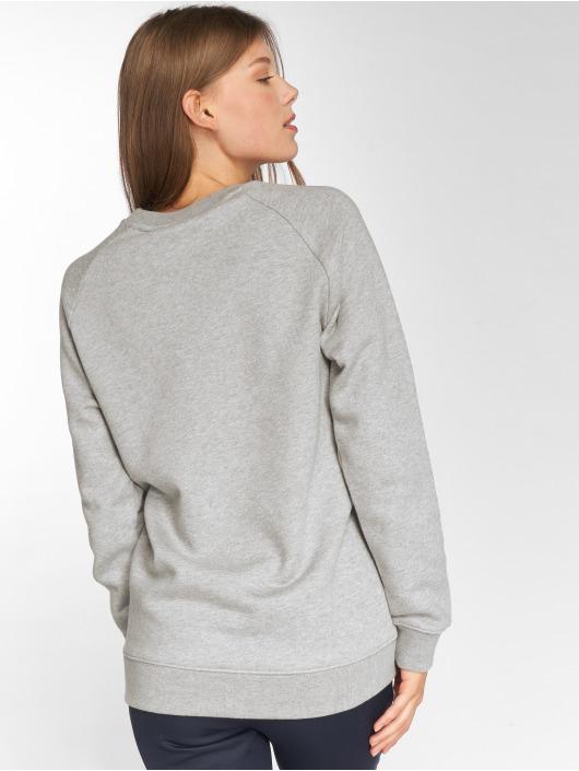 adidas originals Пуловер Oversized Sweat серый