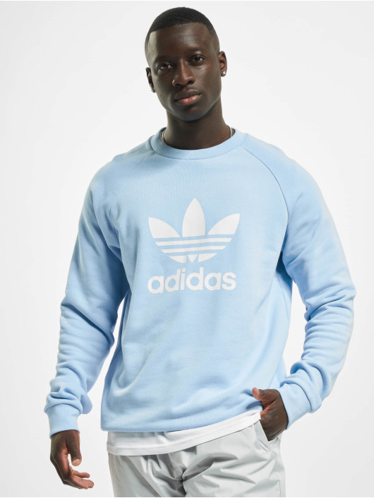 adidas Originals Пуловер Trefoil Crew синий
