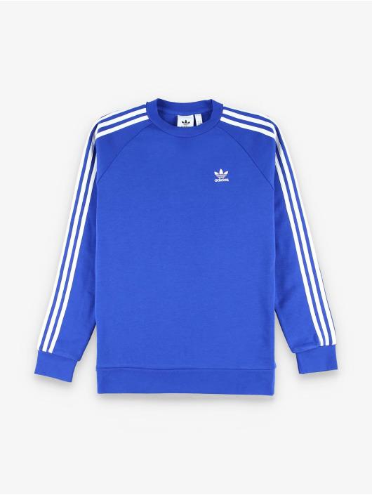 adidas Originals Пуловер 3-Stripes синий