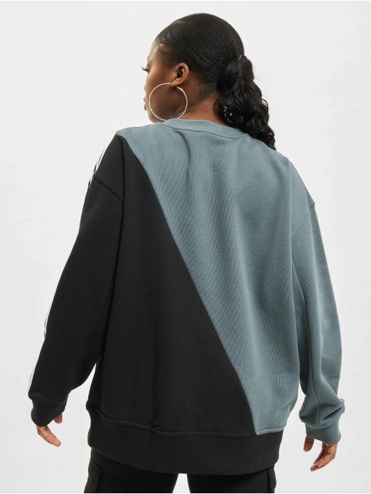 adidas Originals Пуловер Sliced Trefoil синий