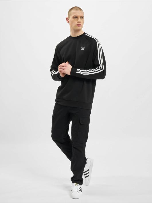 adidas Originals Пуловер 3-Stripes черный