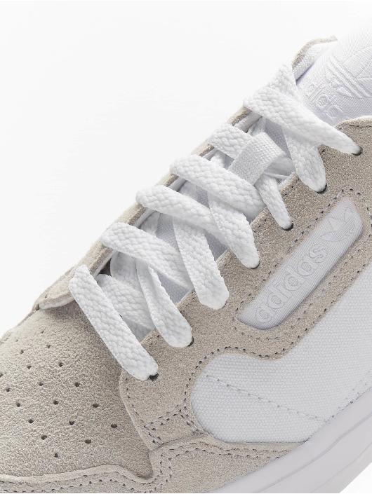 adidas Originals Сникеры Continental Vulc белый