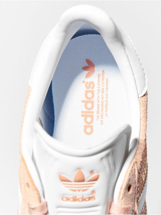 adidas originals Сникеры Gazelle W оранжевый