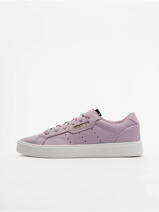 adidas originals Сникеры Sleek пурпурный