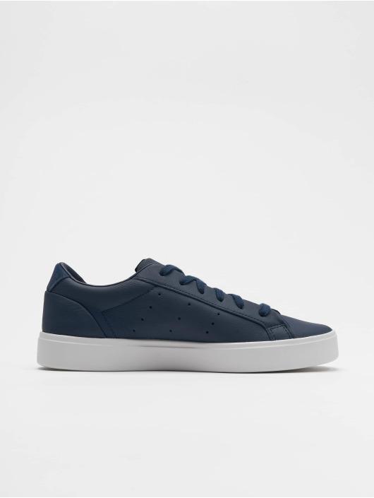 adidas originals Сникеры Sleek синий