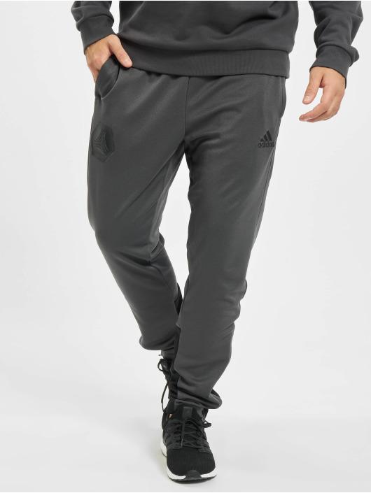 adidas Originals Спортивные брюки Tan серый