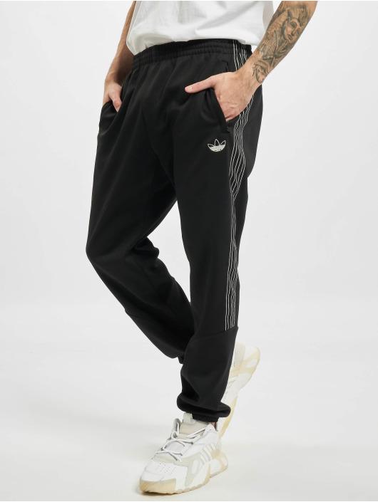 adidas Originals Спортивные брюки Sport Poly черный