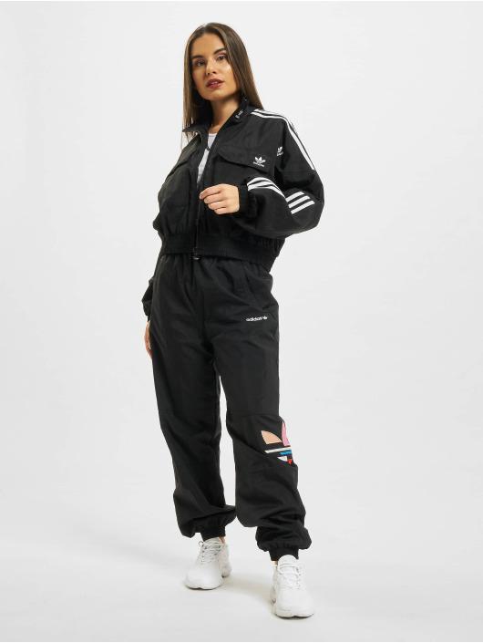 adidas Originals Спортивные брюки Shattered Trefoil черный