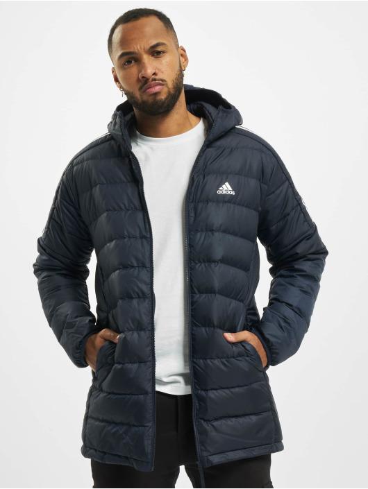adidas Originals Стеганая куртка Ess Down синий
