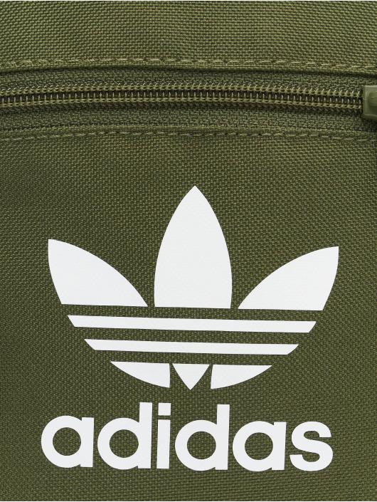 adidas Originals Сумка Trefoil оливковый