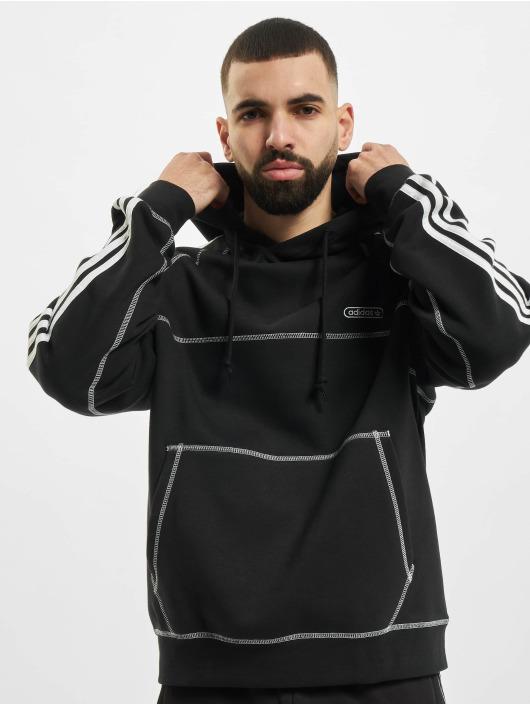 adidas Originals Толстовка Contrast Stitch черный