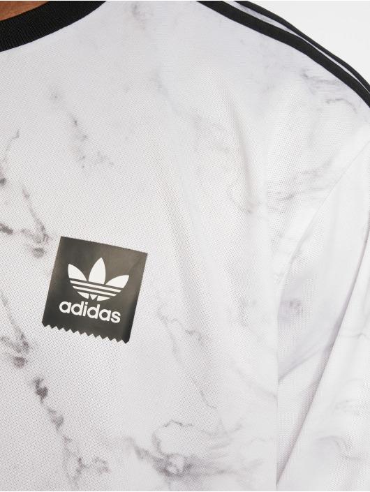 adidas originals Футболка Mrble Aop Clb белый