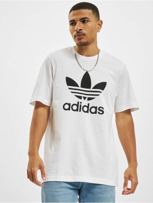 adidas Originals Футболка Trefoil белый
