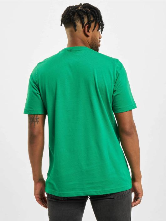 adidas Originals Футболка Trefoil зеленый