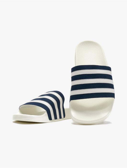 adidas Originals Шлёпанцы Adilette синий