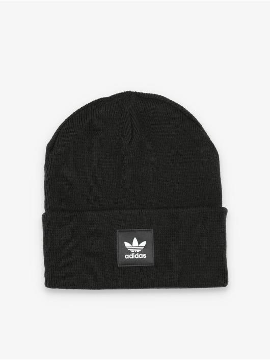 adidas Originals шляпа Adicolor Cuff Knit черный