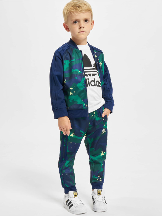 adidas Originals Anzug Sweat blau