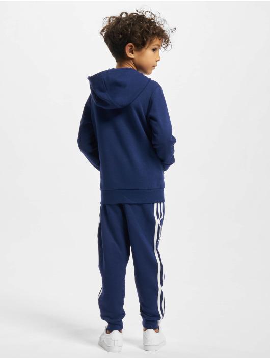 adidas Originals Anzug Hoodie blau