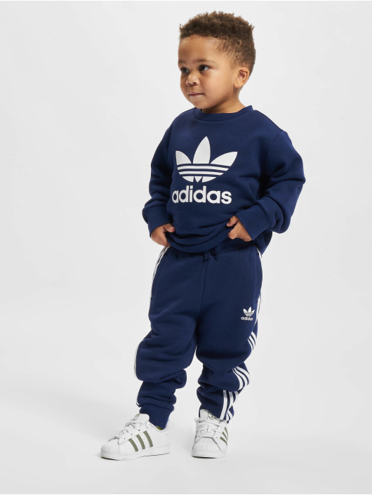 adidas Originals Anzug Crew blau