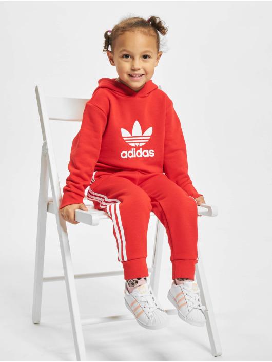 adidas Originals Anzug Hoodie rot