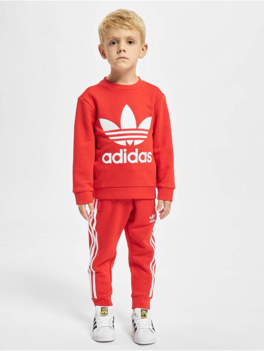 adidas Originals Anzug Crew rot