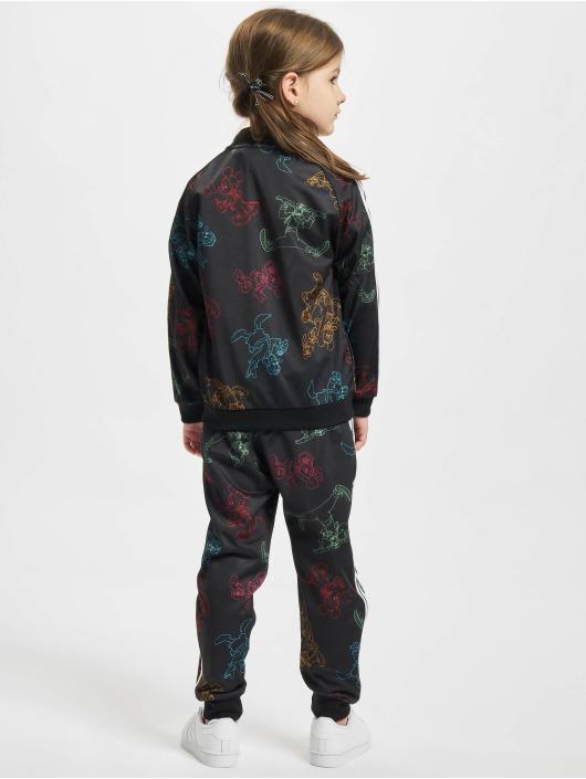 adidas Originals Anzug Mickey schwarz