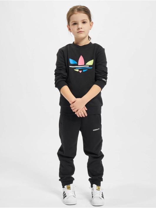 adidas Originals Anzug Crew schwarz