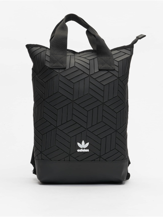 adidas Originals Backpack Roll Top 3D black
