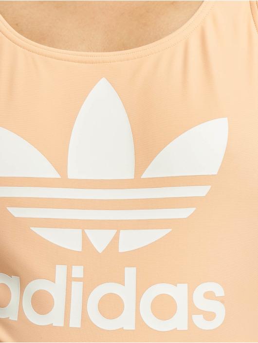 adidas Originals Badeanzug Trefoil pink