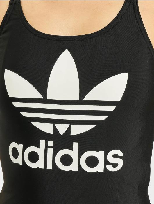 adidas Originals Badeanzug Trefoil schwarz