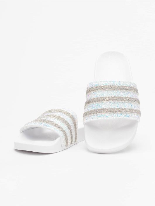 adidas originals Badesko/sandaler Adilette hvit