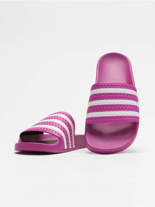 adidas originals Badesko/sandaler Adilette lilla