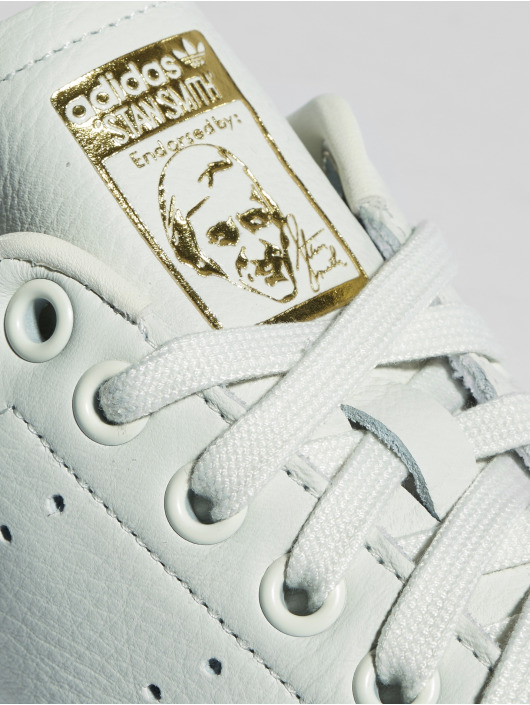 adidas originals Baskets Stan Smith Premium blanc
