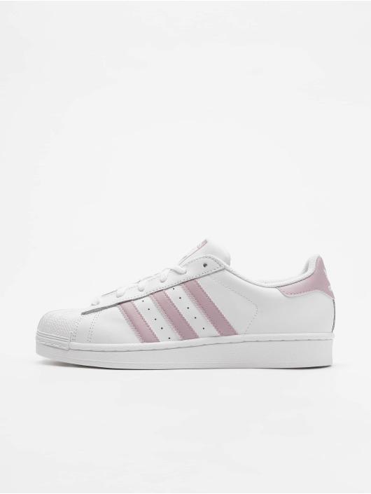 super popular 5ff22 149b9 ... adidas originals Baskets Superstar W blanc ...