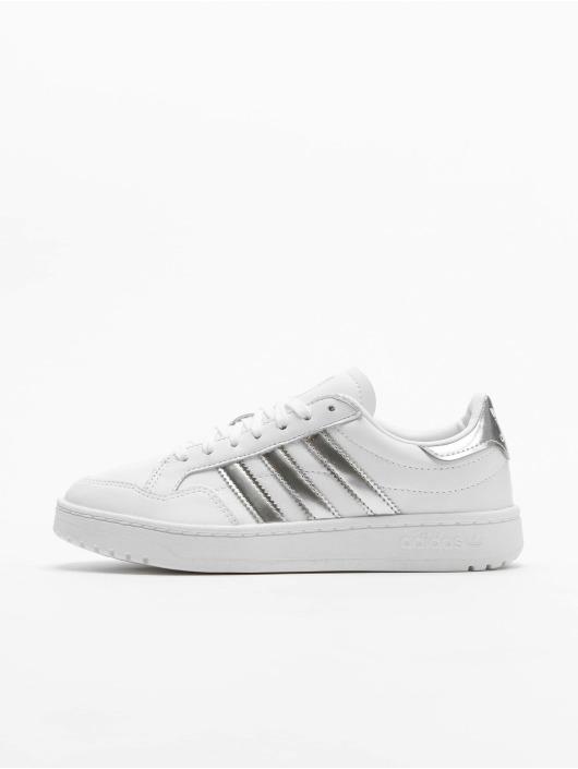 Adidas Team Court Sneakers Ftwr WhiteSilvern Met.Ftwr White