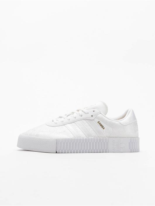 adidas Originals Baskets Sambarose blanc