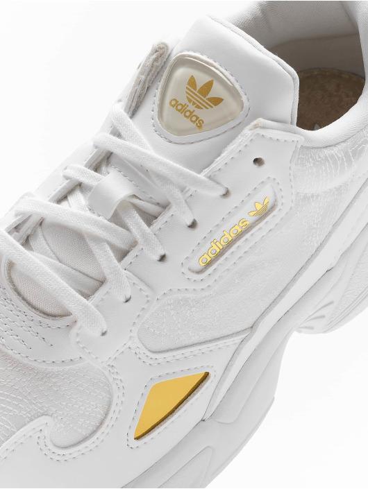 adidas Originals Baskets Falcon blanc