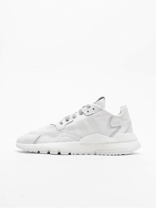 adidas Originals Baskets Nite Jogger blanc