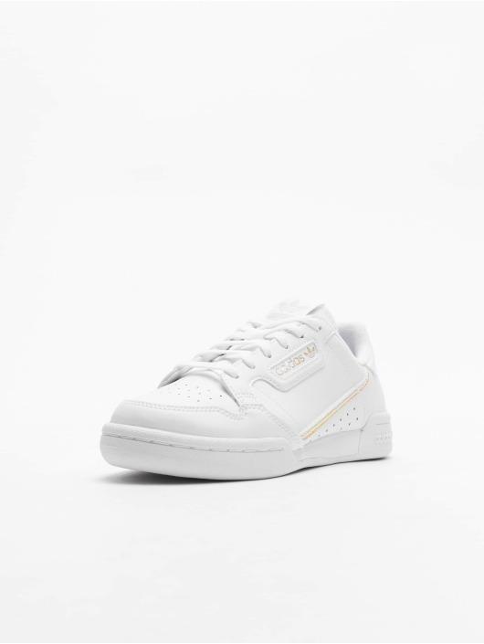 adidas Originals Baskets Continental 80 J blanc