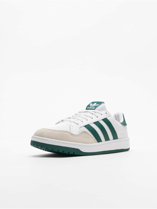 adidas Originals Baskets Team Court blanc