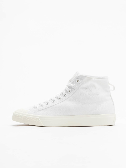 adidas Originals Baskets Nizza Hi blanc