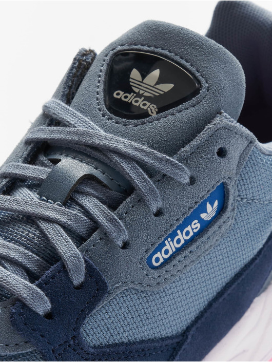 adidas originals Baskets Falcon W bleu