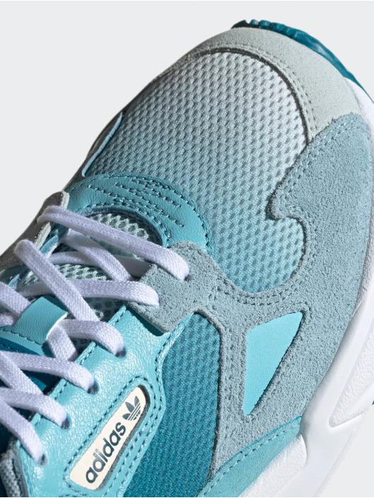 adidas originals Baskets Falcon bleu