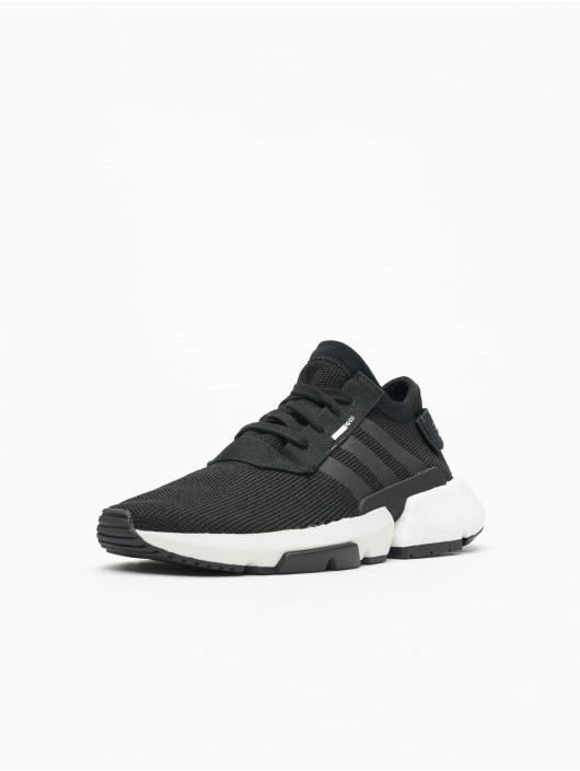 S3 1 Pod Homme 498251 Baskets Noir Originals Adidas qwEtC8x