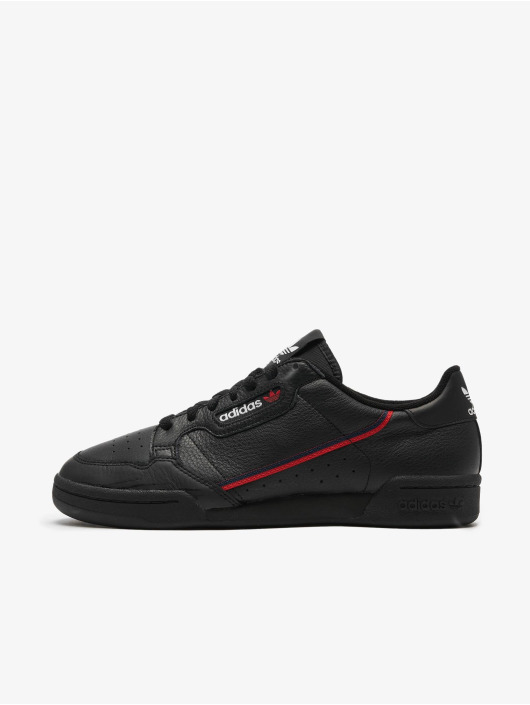 Adidas Continental 80 Sneakers Core Black/Scarlet/Collegiate Navy