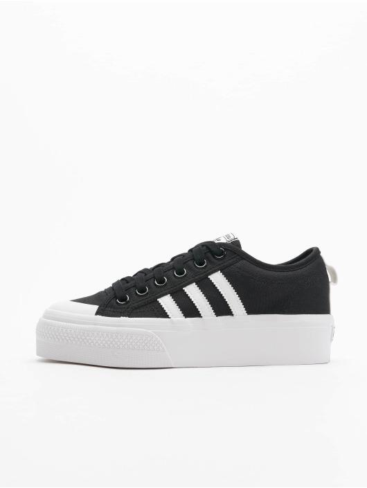 adidas Originals Baskets Nizza Platform noir