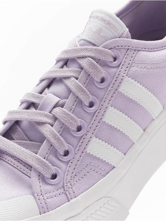 adidas Originals Baskets Nizza Platform pourpre