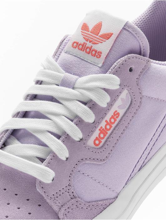 adidas Originals Baskets Continental Vulc pourpre